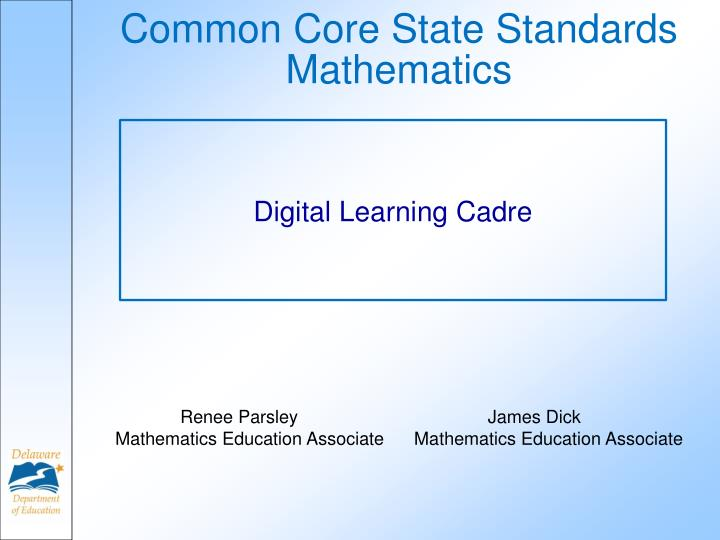 common core state standards mathematics n.