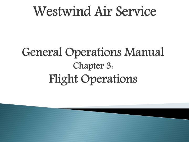 westwind air service n.