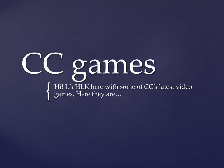 cc games n.