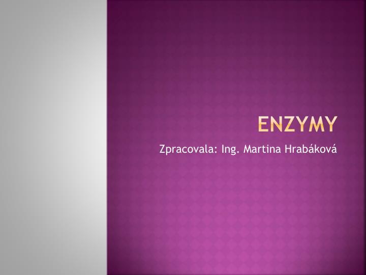 enzymy n.