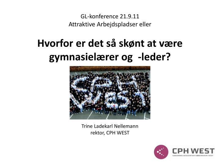 GL-konference 21.9.11