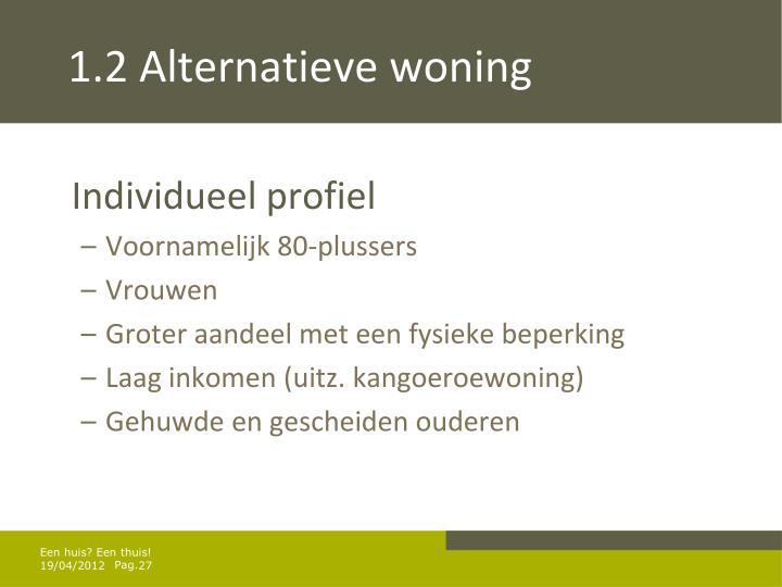 1.2 Alternatieve woning
