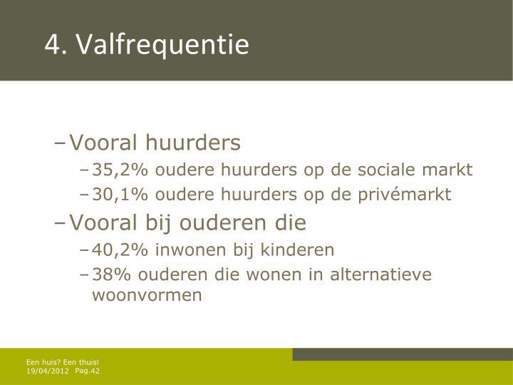 4. Valfrequentie