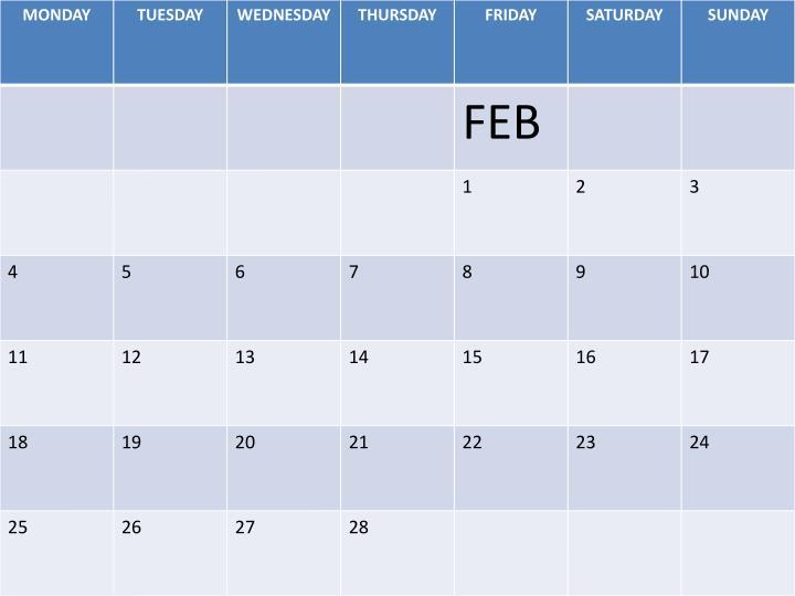 Hrf 2013 calendar
