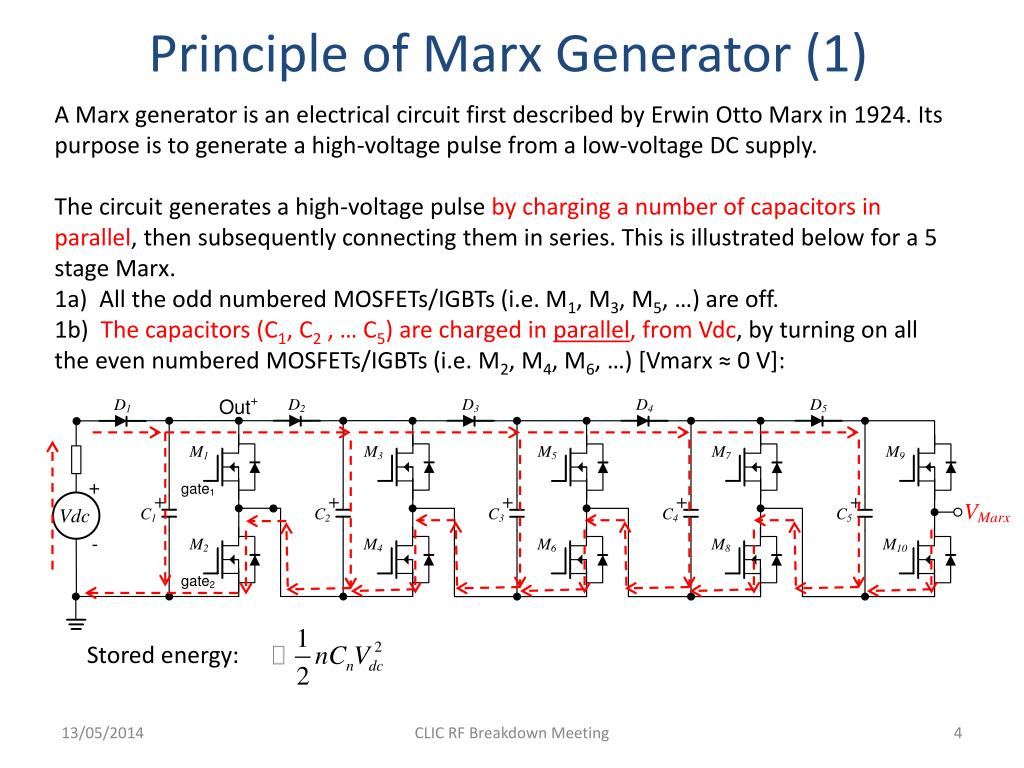 PPT - MARX GENERATOR FOR THE NEW HRR PULSE POWER SUPPLY