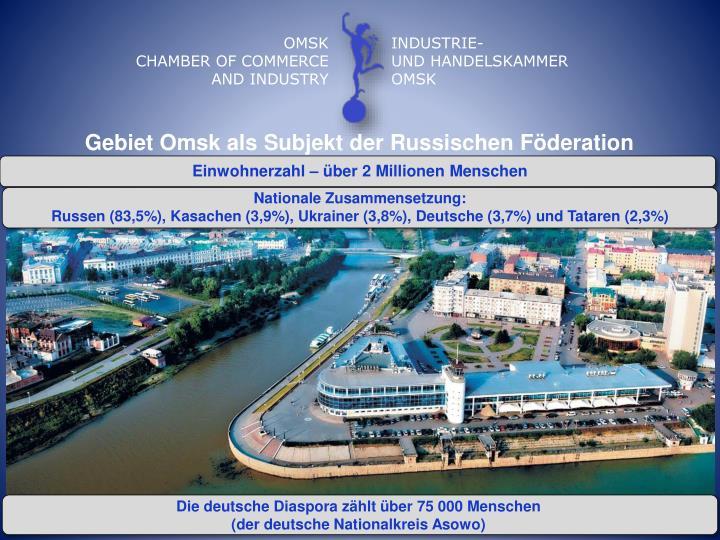 Gebiet Omsk