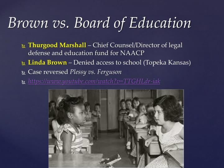 an analysis of the brown v board of education case - brown vs board of education ever since the founding of the united states of america, blacks have continuously been considered inferior to the white race analysis of the brown vs education case and the little rock nine essay - a negro baby had only half the chance of completing high school.