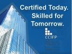 certified today
