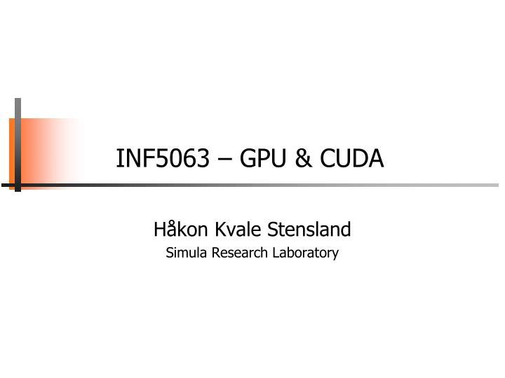 inf5063 gpu cuda n.