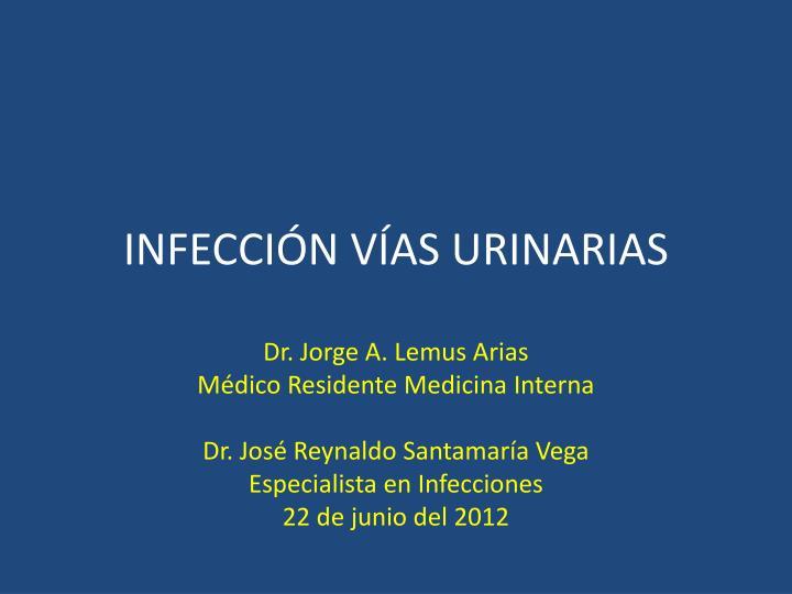 Infecci n v as urinarias