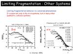 limiting fragmentation other systems