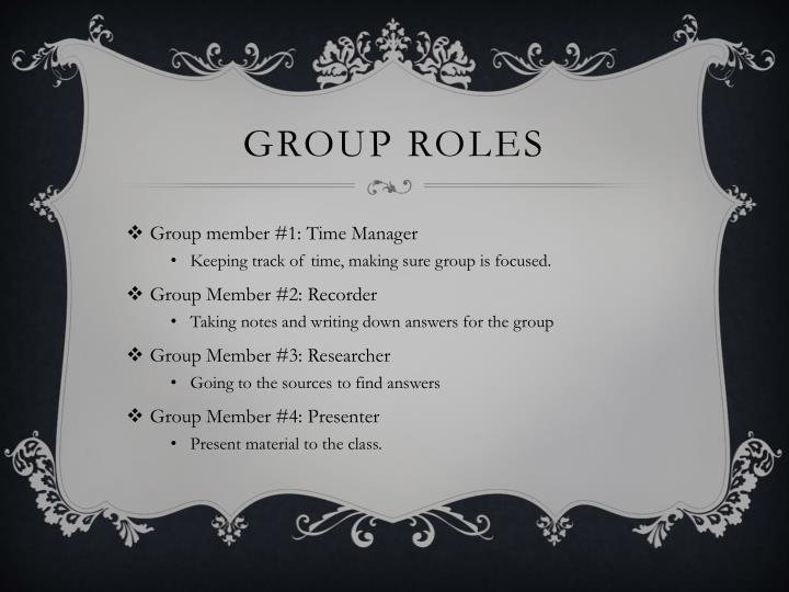 group roles Moved permanently the document has moved here.