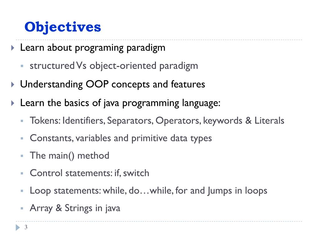 PPT - Object-Oriented Programming (OOP) Using Java PowerPoint