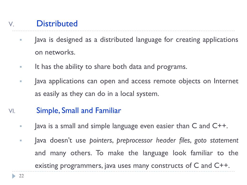 PPT - Object-Oriented Programming (OOP) Using Java