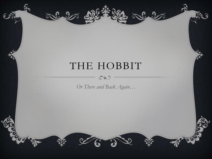 the hobbit n.