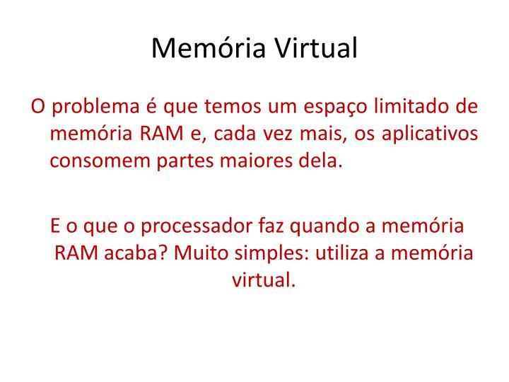 Mem ria virtual