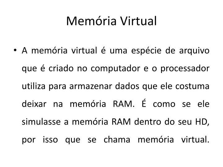 Mem ria virtual1