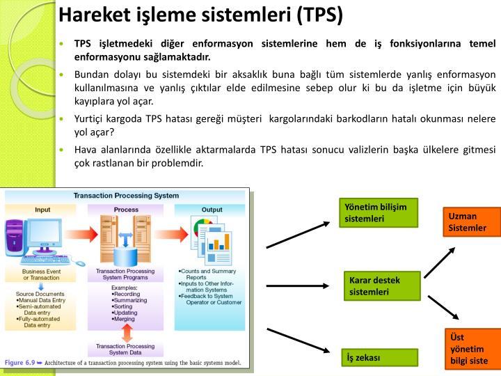 Hareket işleme sistemleri (TPS)