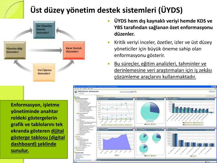 Üst düzey yönetim destek sistemleri (ÜYDS)