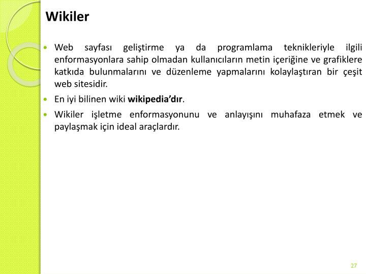 Wikiler