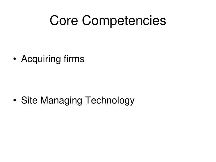 threshold competencies core competencies 31 core competencies explained these crucial core competencies are divided into several 'clusters' by edward j cripeseptember 3, 2002 the following is a summarized list of the 31 competencies listed by cluster (similar competencies related to a common skill set.