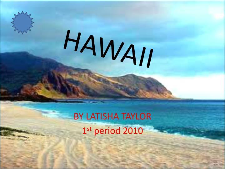 hawaii n.