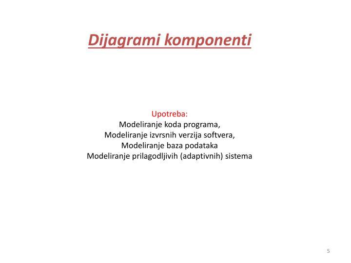 Dijagrami komponenti