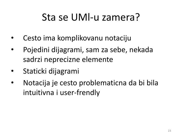Sta se UMl-u zamera?