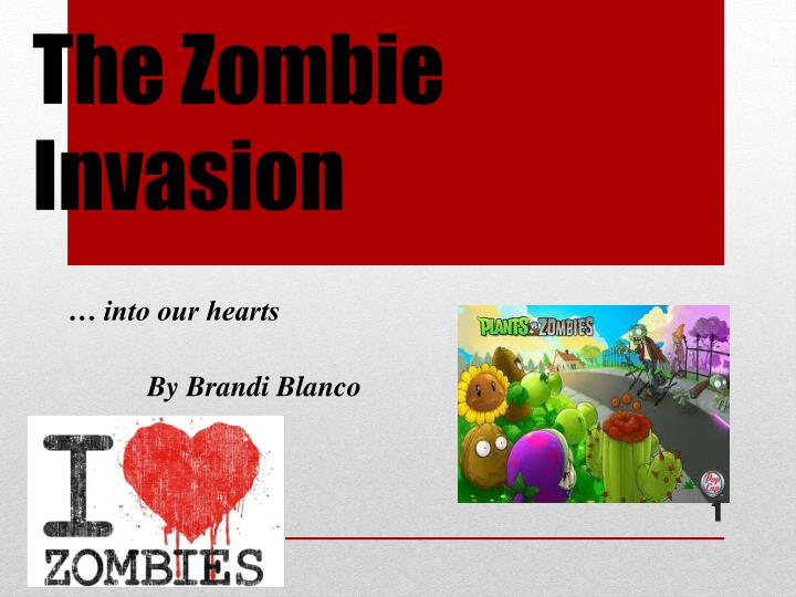 the zombie invasion n.