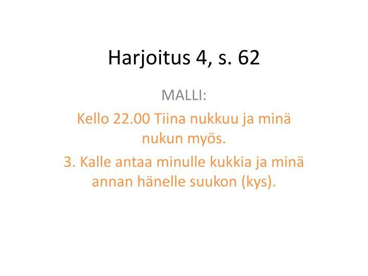 Harjoitus 4 s 621