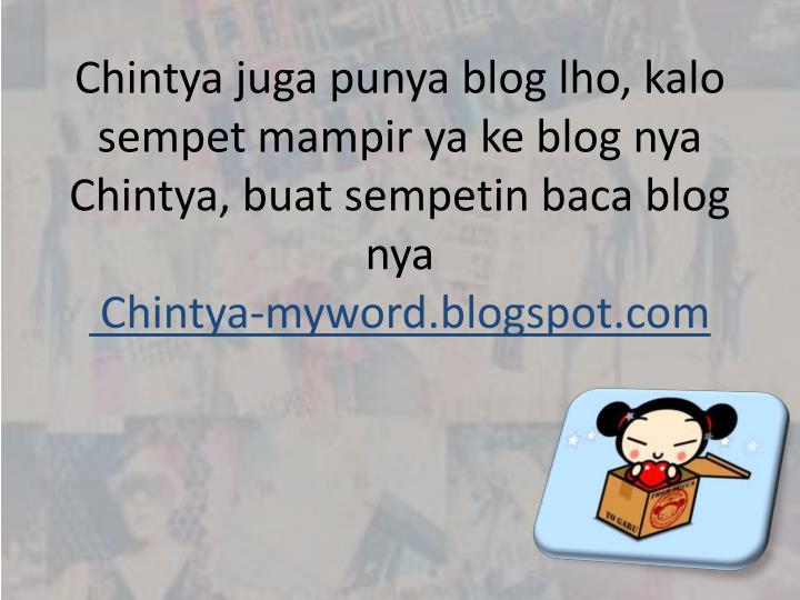 Chintya