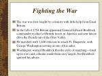 fighting the war1
