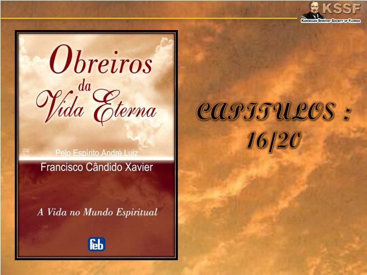 Capitulos 16 20