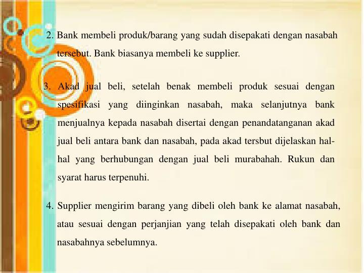 2. Bank