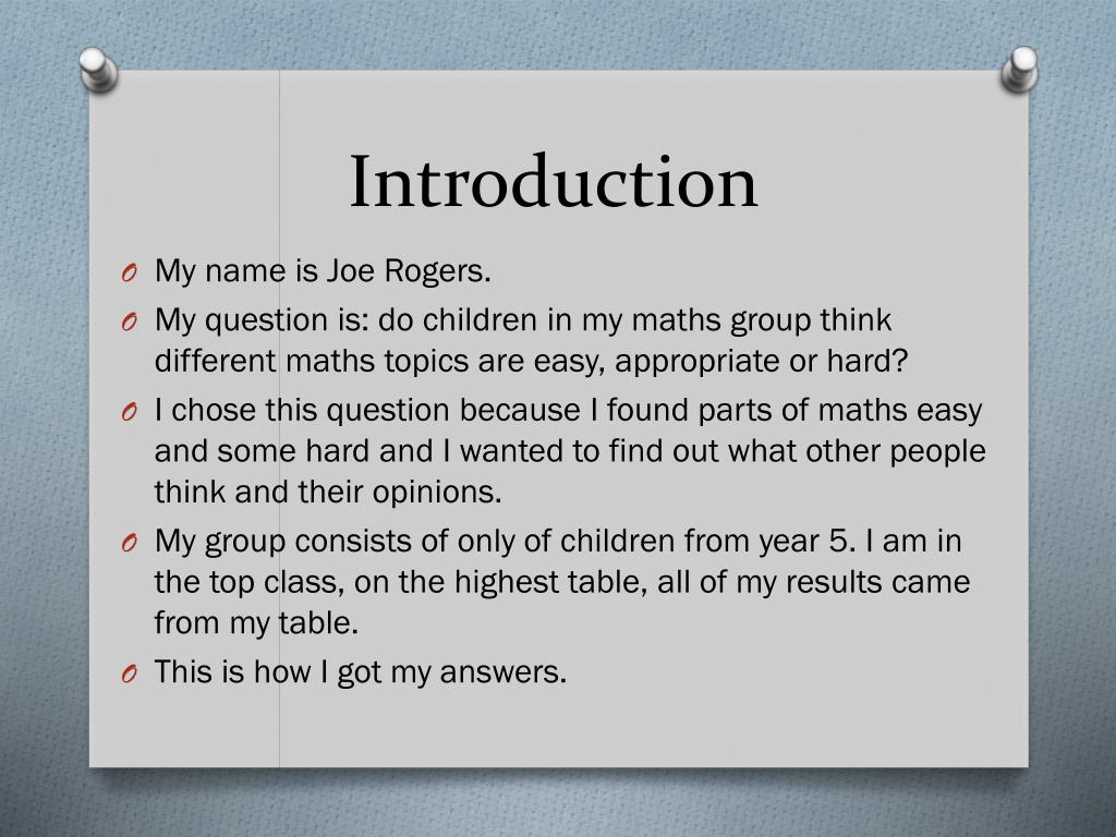 ppt do children in my maths group think different maths topics ppt do children in my maths group think different maths topics are easy appropriate or hard powerpoint presentation id 3441462