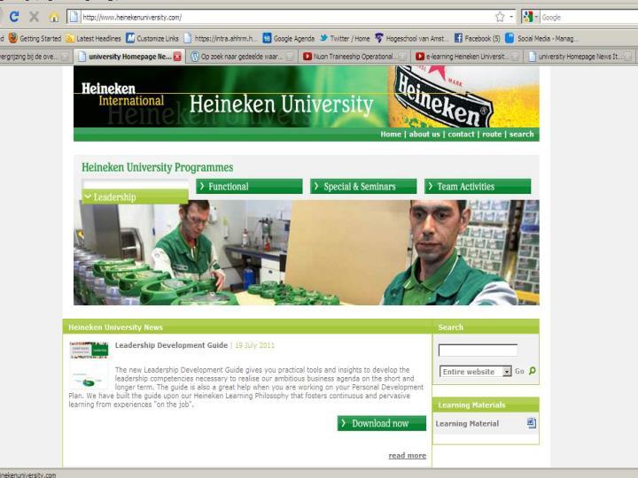 Heineken University