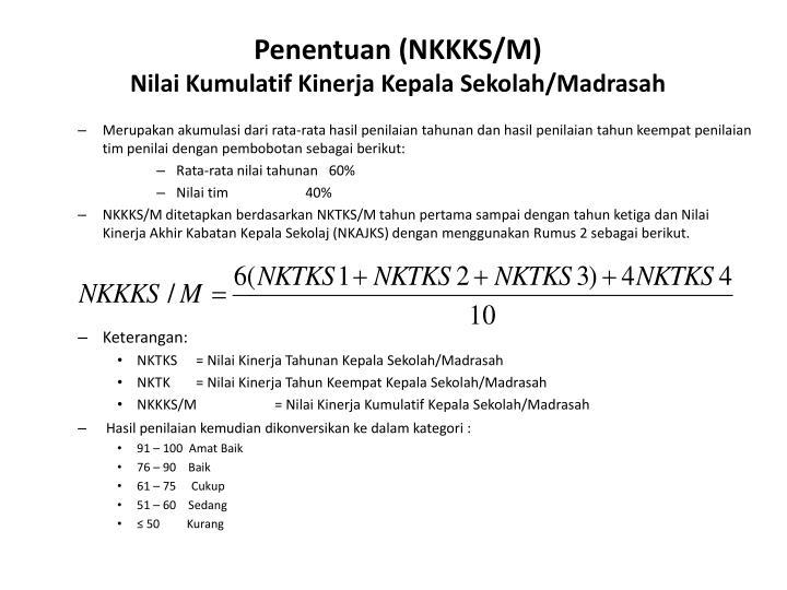 Penentuan (NKKKS/M)