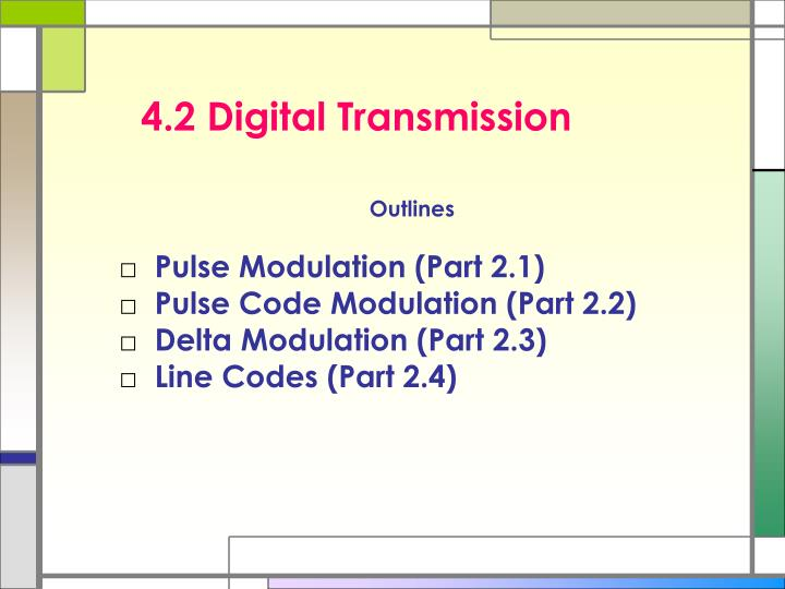 4 2 digital transmission n.