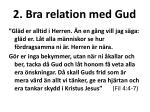 2 bra relation med gud