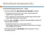 biztos that kock zatok iii