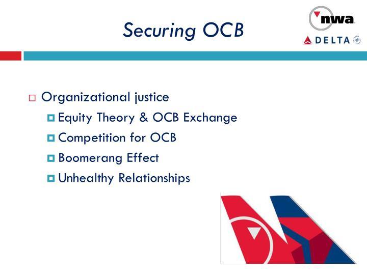 securing ocb n.