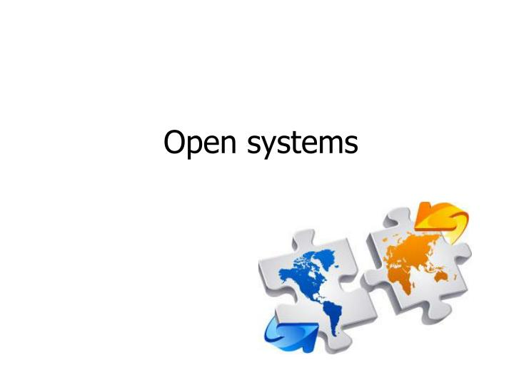 open systems n.