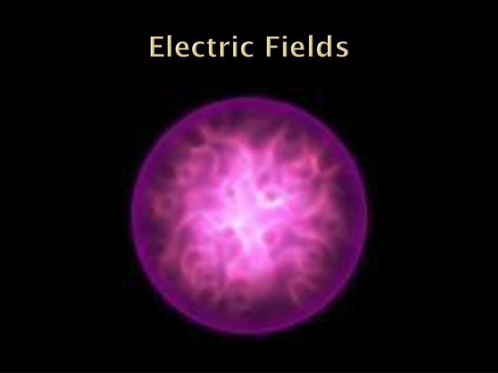 electric fields n.