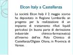 elcon italy a castellanza