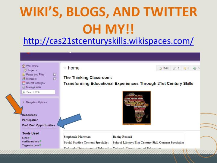 wiki s blogs and twitter oh my n.