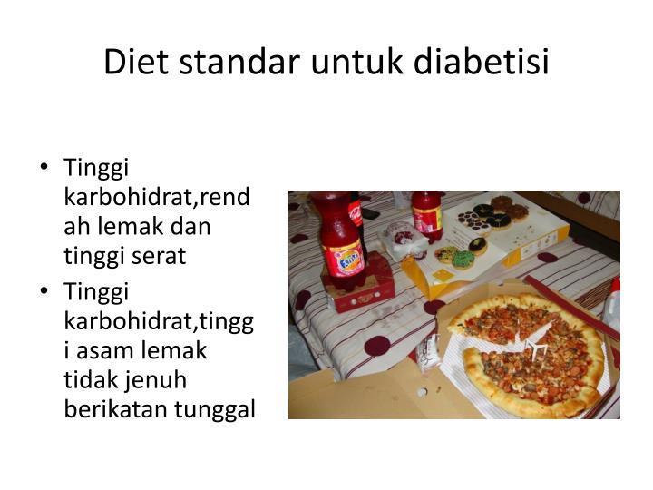 Diet standar untuk diabetisi