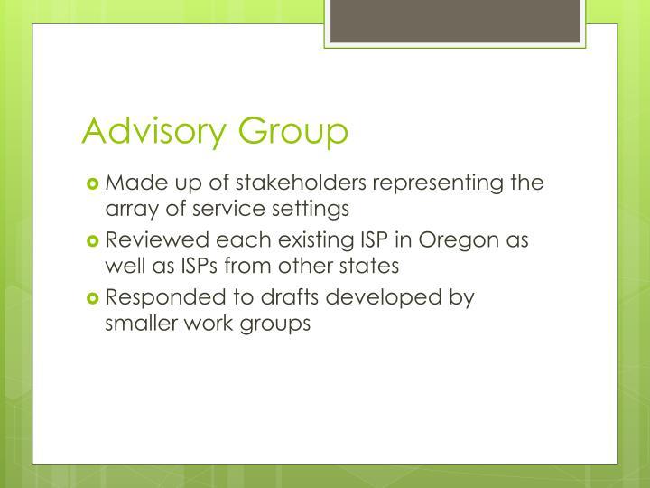 Advisory Group