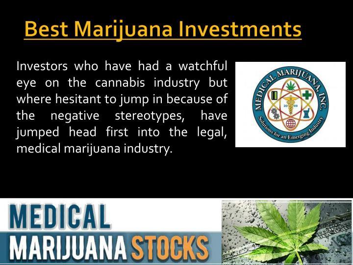 best marijuana investments n.
