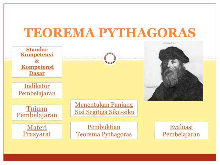 Ppt Teorema Pythagoras Powerpoint Presentation Free Download Id 3446824
