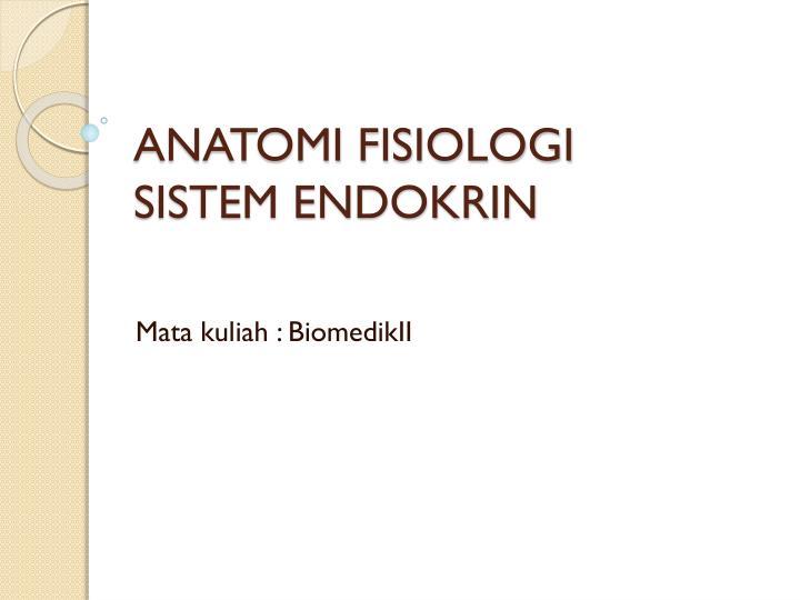 anatomi fisiologi sistem endokrin n.